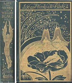 Frederic James Shields - Photo of the binding of the book by A Gilchrist 'Life of William Blake'
