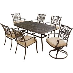 Metal Patio Furniture On Pinterest Porch Glider Metal Lawn Chairs And Vint