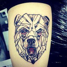 Tatuaje de Oso.