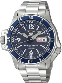 Seiko 5 Sports #SKZ209J1 Men's Atlas Map Meter Stainless Steel Automatic Dive Watch Seiko http://www.amazon.com/dp/B00HYATMJ4/ref=cm_sw_r_pi_dp_KQPfvb0N022TR