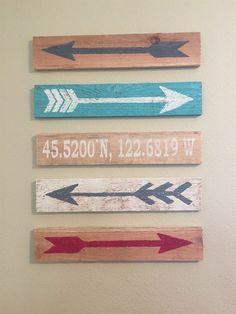 Trendy Wood Arrow Signs! {Jane Deals}