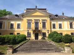 Noszvaj: De la Motte kastély (Hungary) Heart Of Europe, Merida, Homeland, Hungary, Budapest, Italy, Mansions, Palaces, Architecture