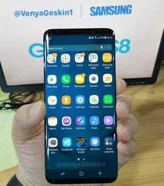 Samsung Galaxy S8 leaak