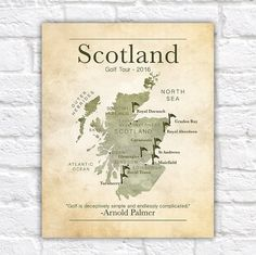 Gifts For Golfers, Golf Gifts, Gifts For Coworkers, Gifts For Dad, Golf Ball Crafts, Scotland Tours, Golf Tour, Perfect Golf, Thing 1