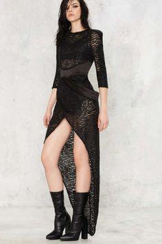 Zhivago Cipher Lace Dress - Last Chance | Black Dresses