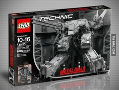 LEGO Metal Gear Solid Rex. Is this real??? I MUST HAVE IT!!