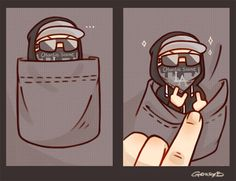 I found a Charlie scene and I put it in my pocket .......nothing wrong with that XD hes so cute