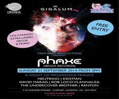 Babies Present Phaxe at Gigalum, 7-8 cavendish parade, London, SW4 9DW, United Kingdom on September 21 at 3:00 pm - 11:00 pm, Price: Free, Although on a hiatus from our typical festival events this year, We just couldn't stay away, Artists : Phaxe, Category: Bars / Pubs | Bars.
