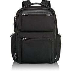 Tumi Arrive Black Bradley Backpack (4.970 VEF) ❤ liked on Polyvore  featuring bags 8be805663e