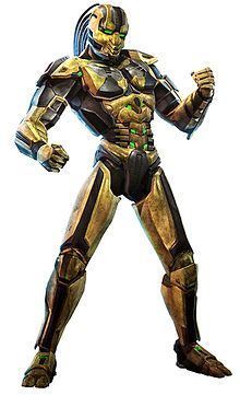 Cyrax - Mortal Kombat; Making his debut in MK3, Cyrax is a cyborg ninja, who was once a human until he was automated, along with Sektor & Smoke. The game's storyline has him pursuing Sub-Zero, who has escaped from the Lin Kuei clan & its plans to turn him into a cyborg as well. Eventually, Sub-Zero manages to reprogram Cyrax with orders to destroy Shao Kahn. his moves utilise bombs, a net & buzzsaws & throws.