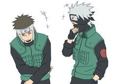 Naruto - Kakashi and Yamato