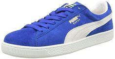 Oferta: 75€ Dto: -33%. Comprar Ofertas de PumaSuede Classic+ - Zapatillas Hombre , color Azul, talla 47 barato. ¡Mira las ofertas!