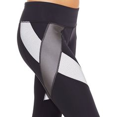 Under Armour Legging will shine when light hits it. #reflectivegear