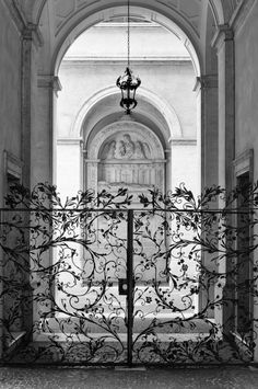 {I} ᏣᎧℓᎧɽƒմℓ ḎᎧᎧɽʂ ᎯɽᎧմȵȡ Ʈђҽ ᏇᎧɽℓȡ {I} ~ confinedlight:  Palazzo Gate, Rome, Italy