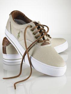 f2c187adf Polo Ralph Lauren Men s Canvas Sneaker v