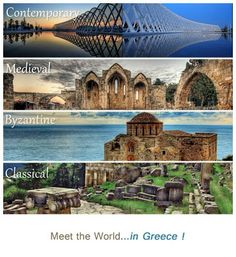 Meet the world in Greece ~ Contemporary Medieval Byzantine Classical Places Around The World, Oh The Places You'll Go, Travel Around The World, Around The Worlds, Medieval, Walled City, Paradise On Earth, Greece Travel, Greek Islands