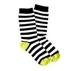 Stripe trouser socks / JCrew