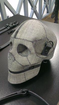 @GQRecommends Skull bag by #AitorThroup #PFW  www.creativeboysclub.com
