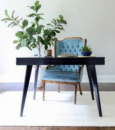 3 Great Tips: Coastal Style British Colonial coastal decor livingroom. Blue Painted Furniture, Coastal Furniture, Coastal Bathrooms, Coastal Living Rooms, Coastal Style, Coastal Decor, Coastal Lighting, Mid Century Modern Desk, Manufactured Home Remodel