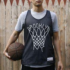 Fancy - Brooklyn Nets Reversible Tank Top by CLINTEES