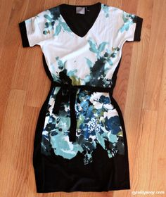 I love this! Perfect for a dinner date with the hubby or out wit the girls!! Maybe even the office too, with some tights.
