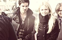 If Neil (Bauelfire) and Emma don't work out . . . Hook and Emma FOREVER! <3