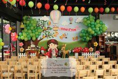 Enchanted woodland party backdrop