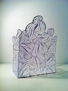 Cut Paper Structures - Rachael Ashe