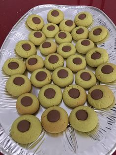 Pistachio thumbprint biscuits I did a twist as cannot get pandan in uk  I used pistachio extract & green food colour
