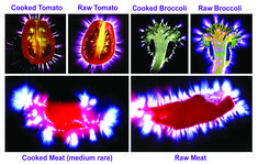 Why you should not overcook or over-heat your food. kirlian photography. Watch how this is photographed in the movie THE BEAUTIFUL TRUTH.