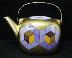Rosenthal Porcelain Teapot - Vasarely Galerie - Suomi Objekt