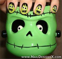 halloween nail designs � Nail Designs & Nail Art