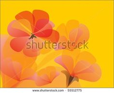 #geranium #flower #flora #illustration #shutterstock
