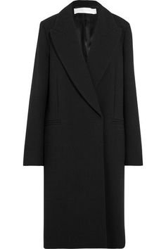 Victoria, Victoria Beckham - Wool Coat - Black - UK