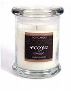 Ecoya Espresso Metro Jar Candle
