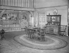 """The """"Ricardo's"""" Connecticut Dining Room    On the set of the """"I Love Lucy"""" show"""