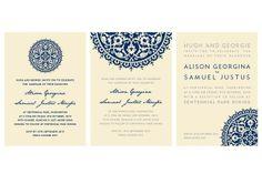 Wedding Invitations on Behance