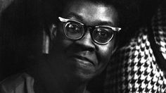A portrait of poet Gwendolyn Brooks, the first black poet to win the Pulitzer Prize 1950. We real cool - documentary