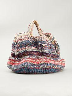 60 Daily Useful and Cool Crochet Bag Pattern Ideas - Page 18 of 60 - Beauty Crochet Patterns! Bag Crochet, Crochet Market Bag, Crochet Handbags, Crochet Purses, Pochette Diy, Japanese Bag, Japanese Crochet Bag, Yarn Bag, Knitted Bags