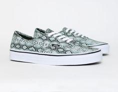 #Vans Authentic Snake #print #Sneakers