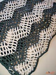 Ravelry: Big Bold Chevron Blanket pattern by Tamara Kelly