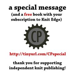 Help support independent knit publishers.
