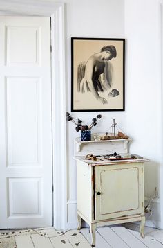 Atmosphère parisienne dans l'appartement de Copenhague - Boligliv