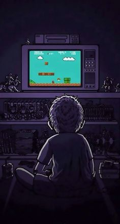Android iphone wallpaper background tv mario bros