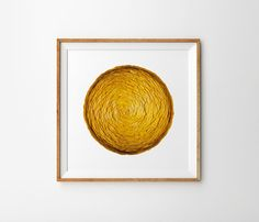 Ginkgo Ball Leaves Art Leaves Print Autumn Leaves by SilkeSpingies