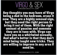 Virgo woman sexuality traits