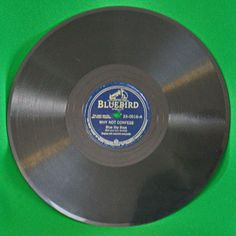"1940 Bluebird Records 10"" Shellac 78 RPM, The Blue Sky Boys, Play-Rated VG+!"