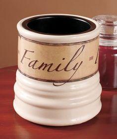 "FAITH, FAMILY, FRIENDS 6"" CERAMIC CANDLE WARMER CROCK Home Decor http://www.amazon.com/dp/B00FOE3HCK/ref=cm_sw_r_pi_dp_X3nRub1MRQ695"