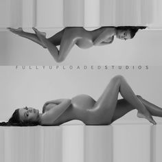 Maternity Nude Editorial edgy artistic maternity photo shoot.