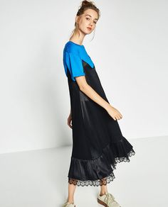 Image 2 of FRILLED CAMISOLE DRESS from Zara